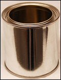 1/2 Pint Paint Tin Can With Lid