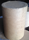 10 Gallon   Open Head Kraft 150 lb NWL  Round  Fibre   Drum