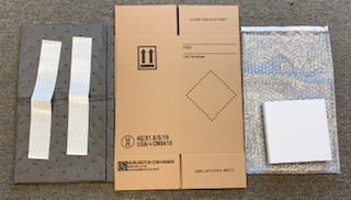 Kraft  Hazmat Shipper Kit  Corrugated Cardboard   Hazmat Shipper