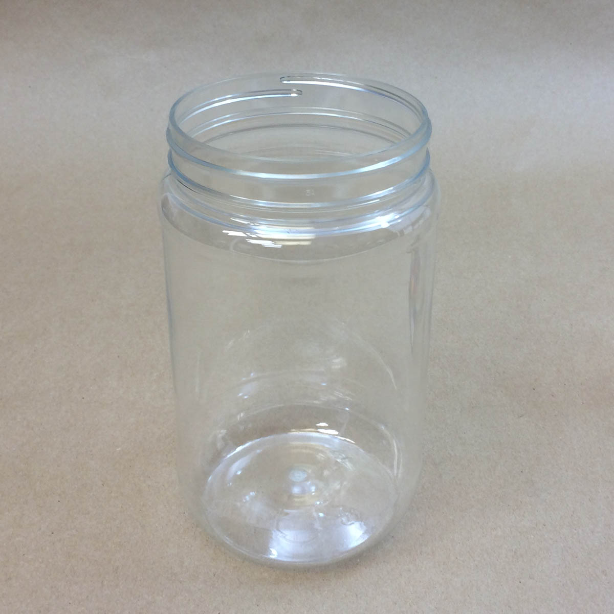 40 oz. Round Plastic Jar