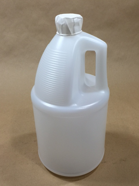128 oz. / 1 gallon   38 400 Natural TE  Round 150g   Plastic   Jug