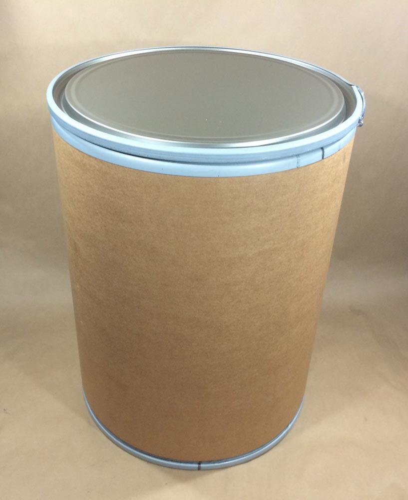44 Gallon   Open Head Kraft  Round  Fibre   Drum