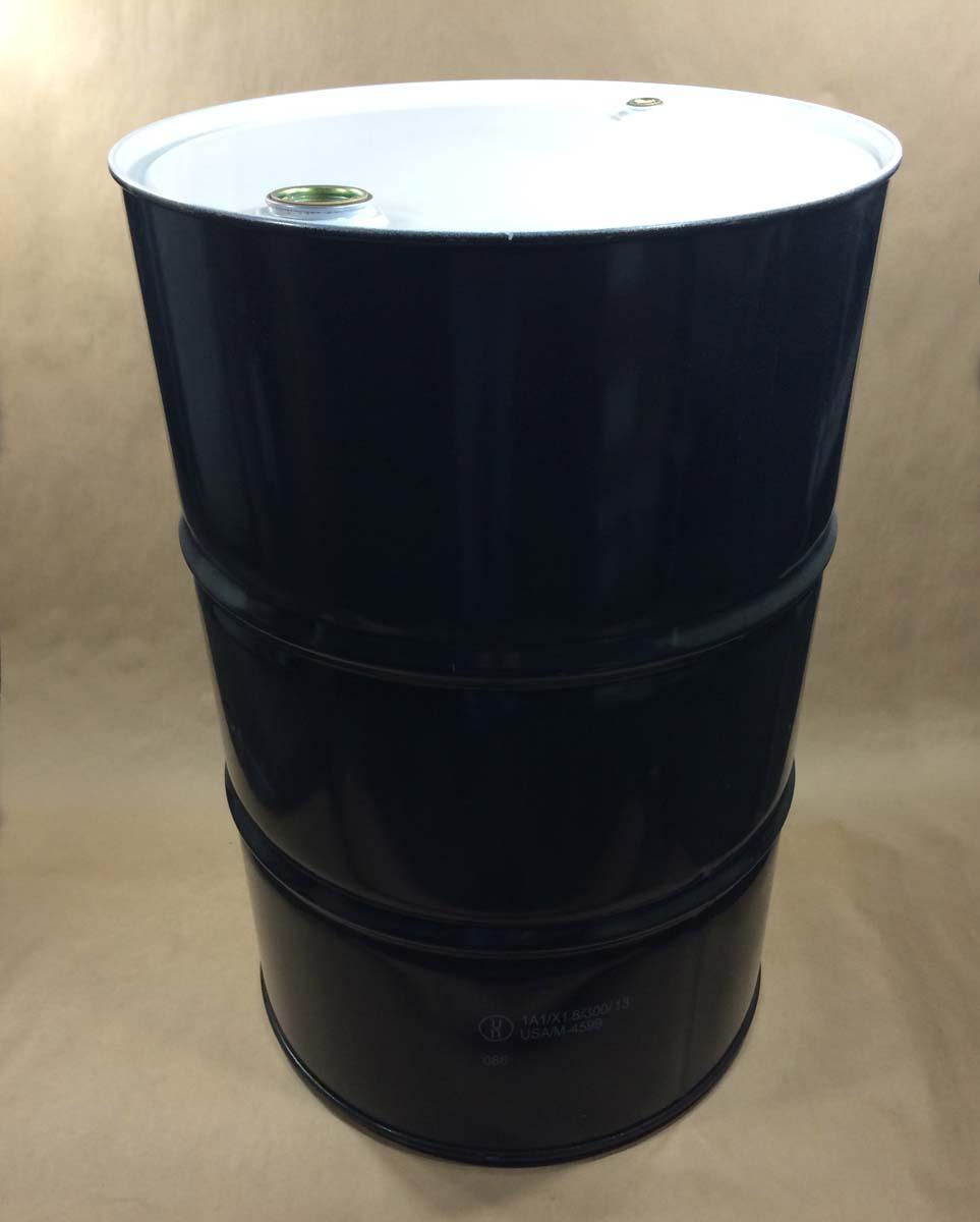 55 Gallon Round Steel Drum