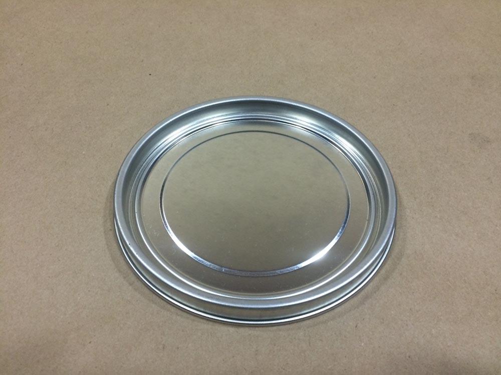 Silver  .5 Gallon/ 64 oz.  Tin   Can Plug