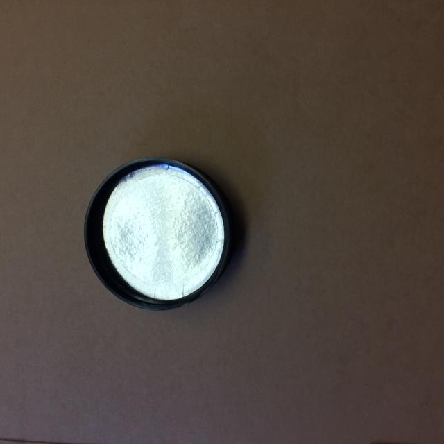 53 400 Black  Ribbed Sides/Matte Top  Plastic   Cap