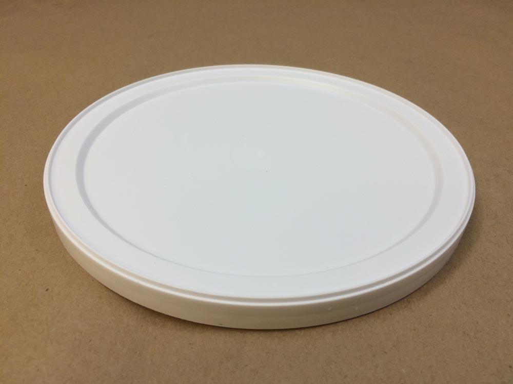 White    Plastic   Flush Lid for 64,86,128 oz.