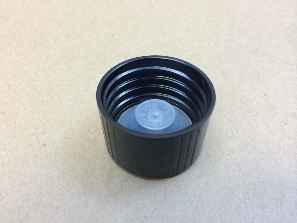 33 400   33 400 Black  Round  Plastic   Cap