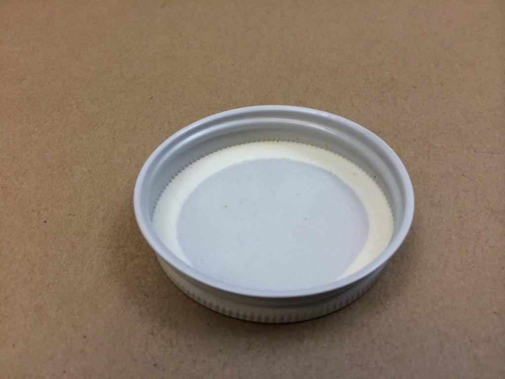 70G   70G White  Round  Metal   Cap