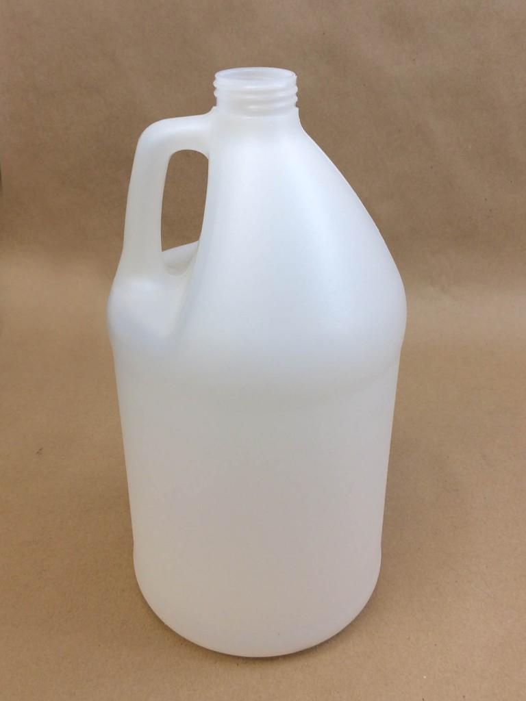 128 oz. / 1 Gallon   38 400 Natural  Round  Plastic   Jug
