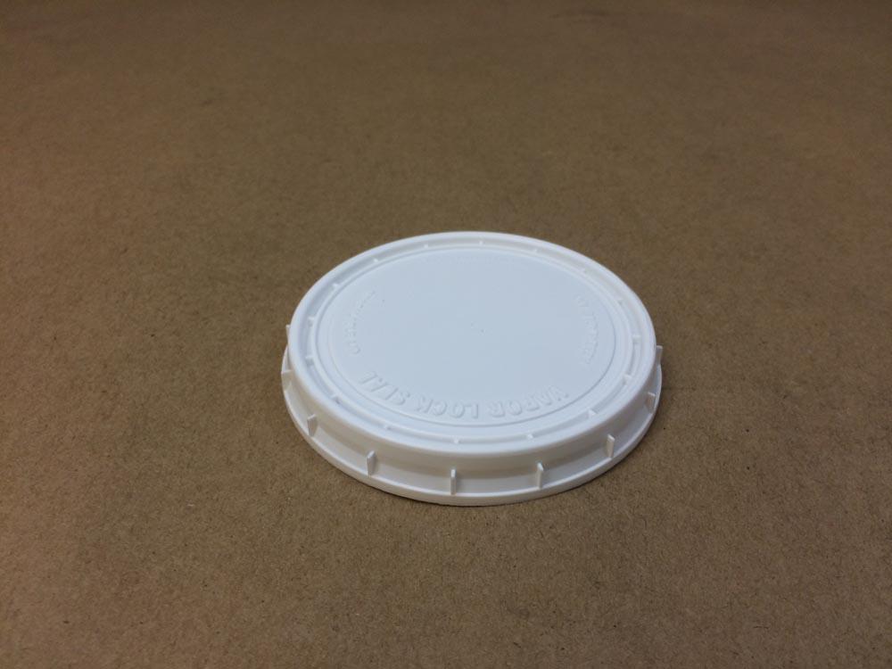 9 oz. Lid    White    Plastic Lid