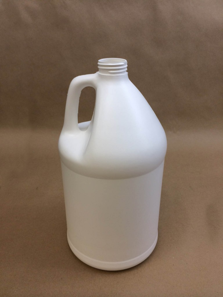 128 oz./ 1 Gallon   38400 White  Round  Plastic   Jug