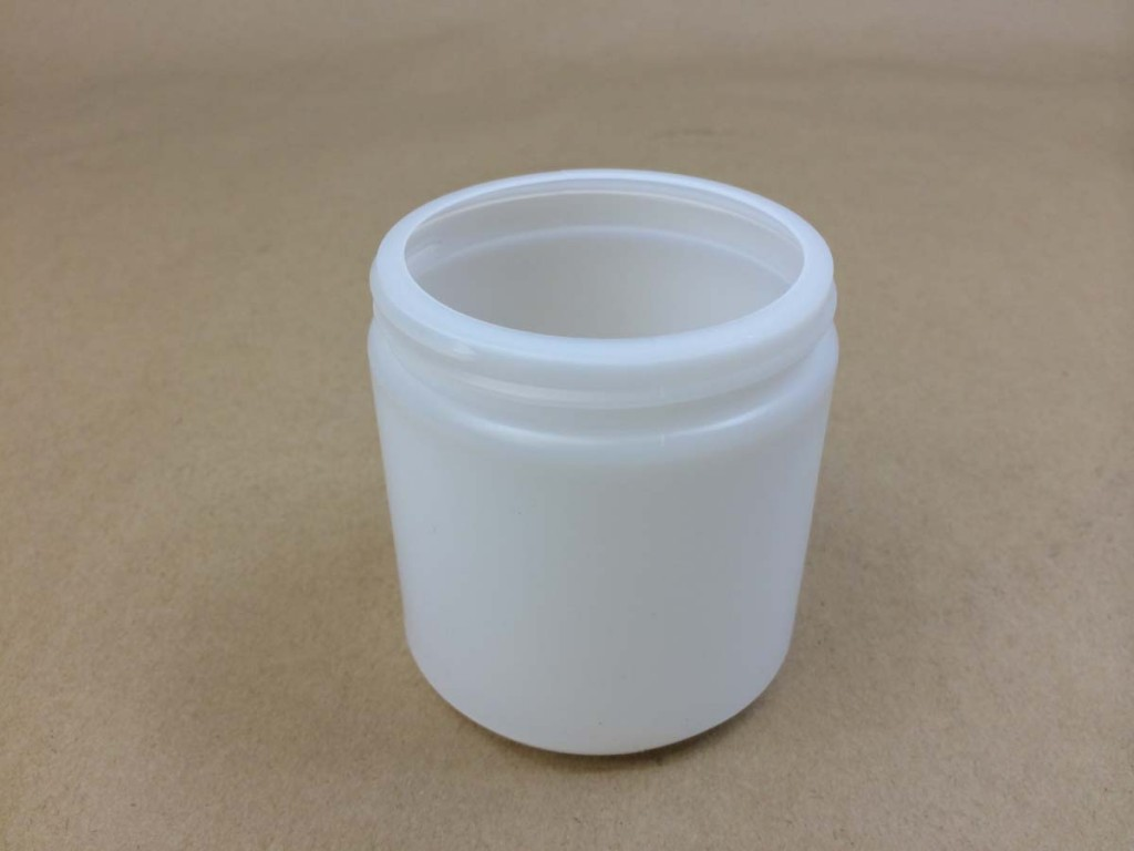 8 oz. Wide Mouth Round Plastic Jar