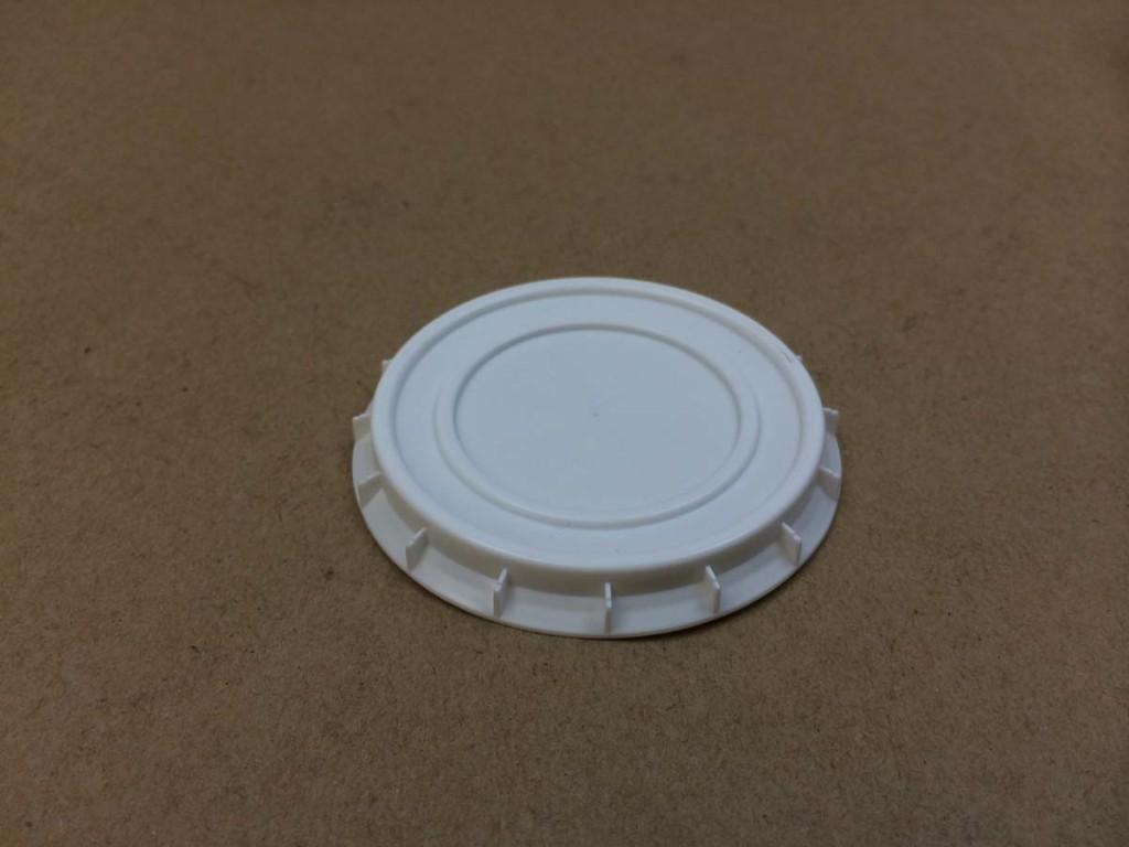 4 oz. Lid    White    Plastic Lid