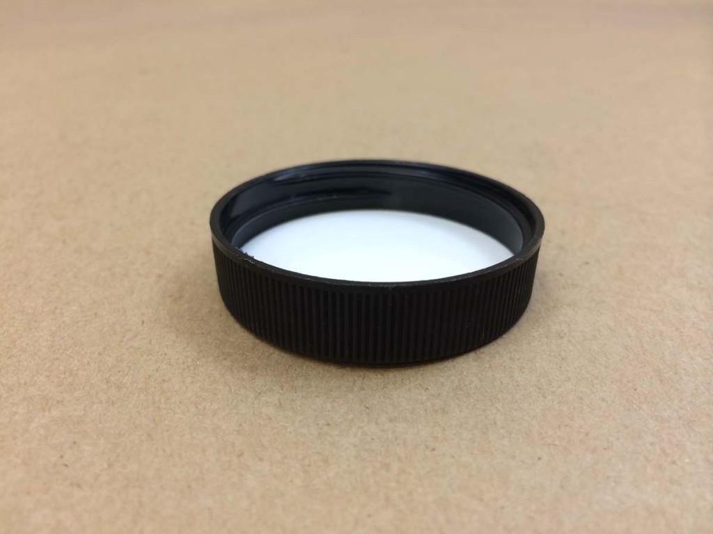 45 400   45 400 Black  Round  Plastic   Cap