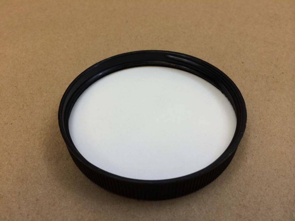 70 400   70 400 Black  Round  Plastic   Cap