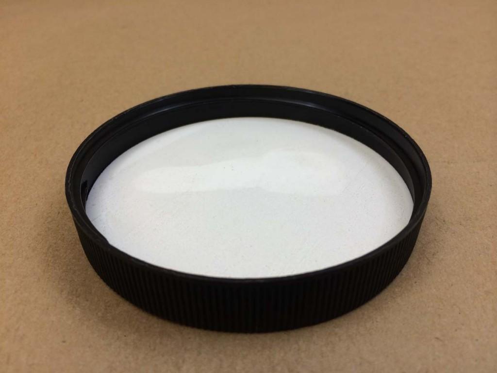 83 400   83 400 Black  Round  Plastic   Cap