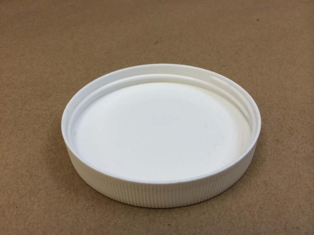 63 400   63 400 White  Round  Plastic   Cap