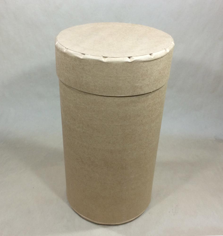 8.5 Gallon   Open Head Kraft 115 lb NWL  Round  Fibre   Drum