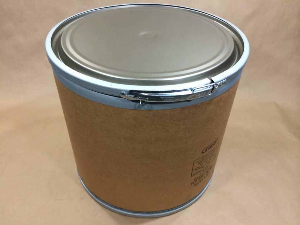 11 Gallon   Open Head Kraft  Round  Fibre   Drum