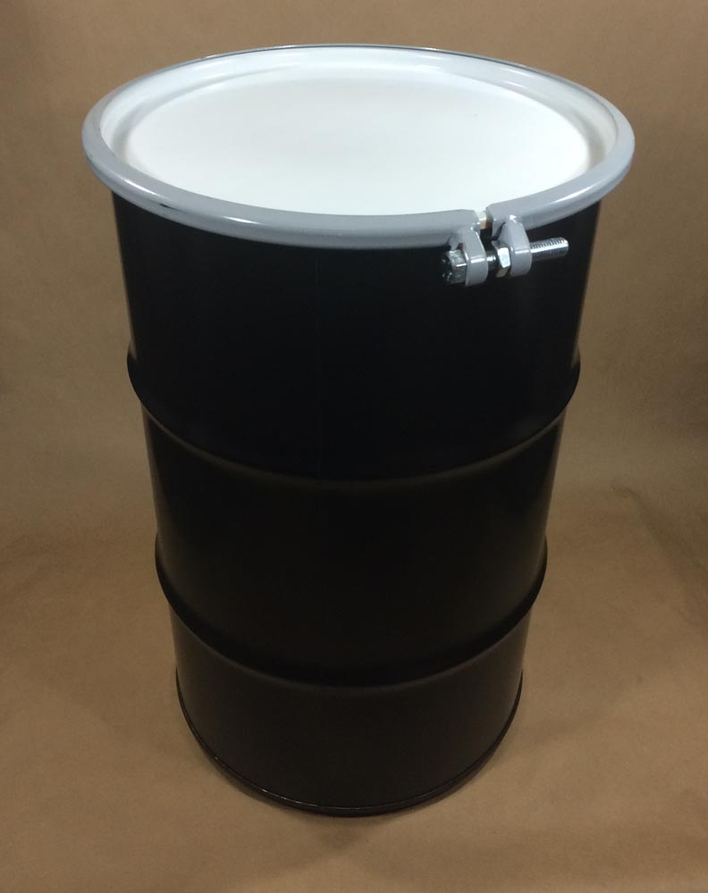 30 Gallon Round Steel Drum