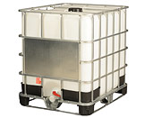 275 Gallon      Tote  HDPE with Steel Cage   IBC
