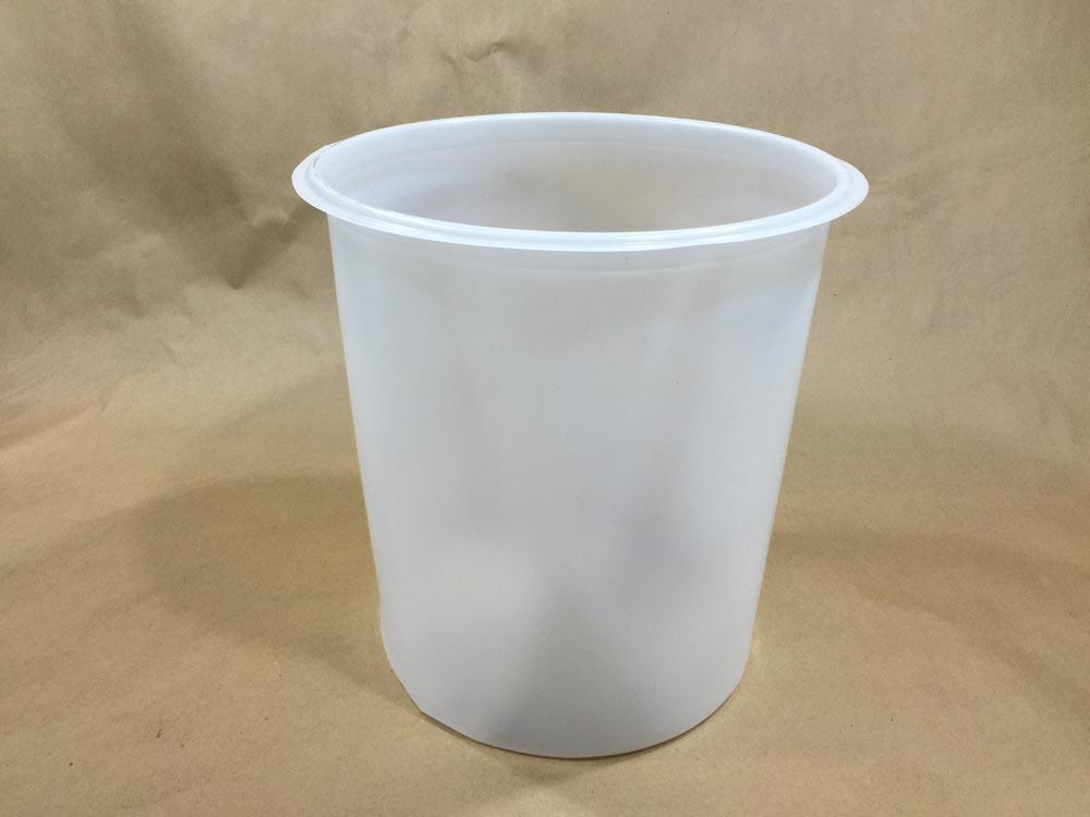 5 Gallon    Natural  Round  Plastic   Rigid Pail Liner
