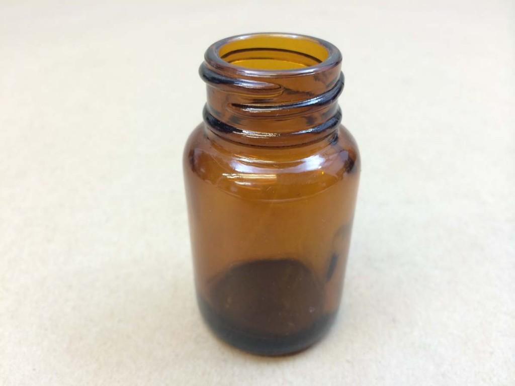 30cc   28 400 Amber  Round  Glass   Jar