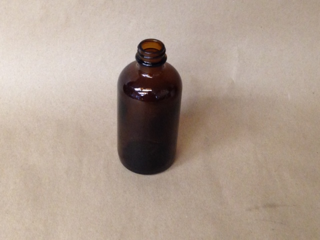 6 oz. Boston Round Glass Bottle