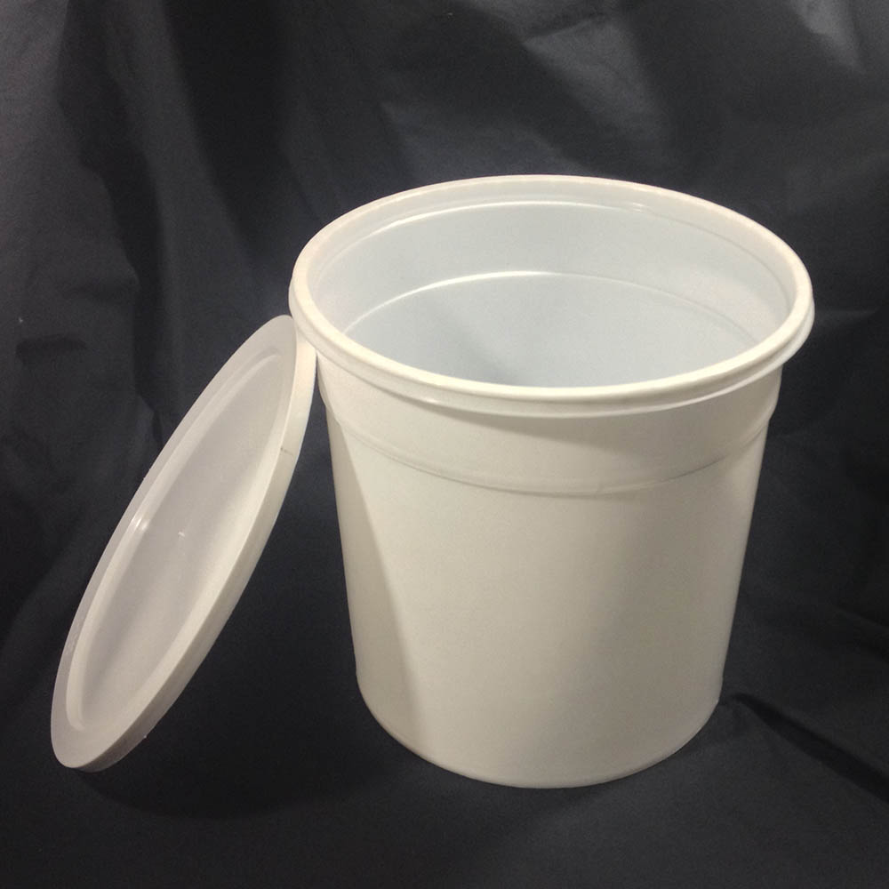 Plastic Ice Cream Vendor Buckets And Lids Yankee Containers Drums Pails Cans Bottles Jars Jugs And Boxes