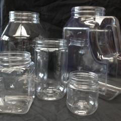 PETE Jars: Clear Plastic Jars