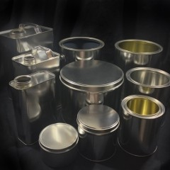 Tin Containers for Sale