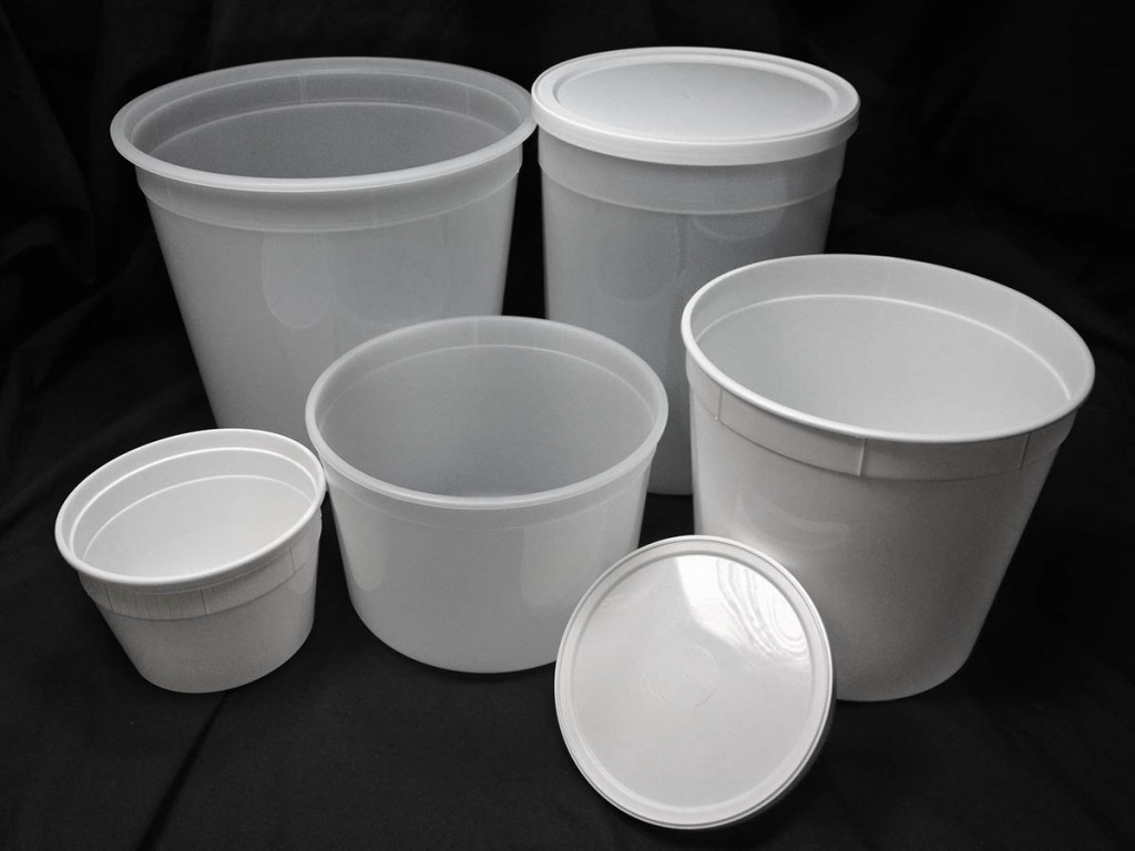 Are your plastic deli tubs food safe and freezer
