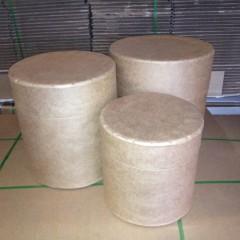 Cardboard Drums or Barrels