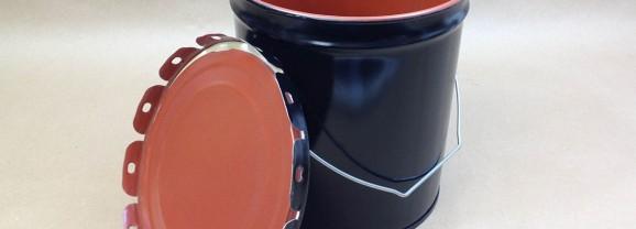 2 Gallon UN Steel Buckets