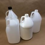 plastic jugs