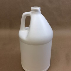 Gallon Plastic Jugs in White High Density Polyethyene