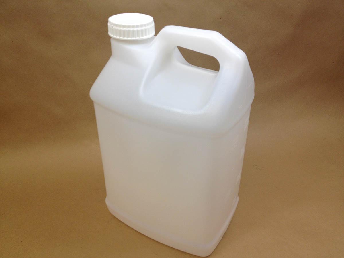 2.5 gallon plastic jug with 63mm cap