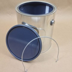 Gallon Grey Lined Paint Can