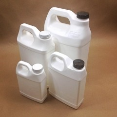 Fluorine Barrier Treated Plastic Jugs