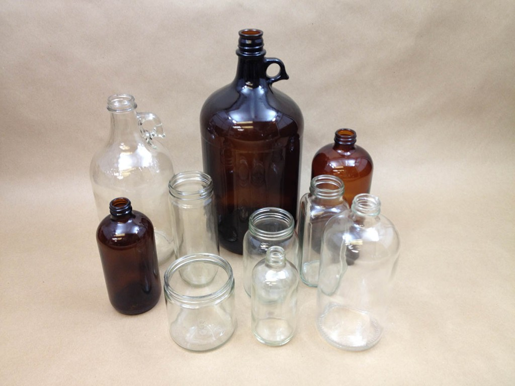 glass, glass bottles, glass jars, glass jugs, glass droppers