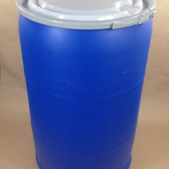 Blue Plastic Barrels and Drums – 5 Gallon to 55 Gallon