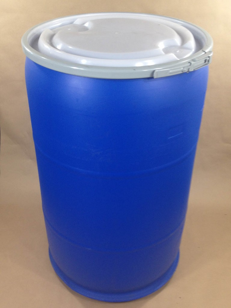 Blue Plastic Barrels And Drums 5 Gallon To 55