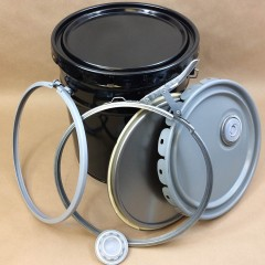Closures for Open Head Steel Pails