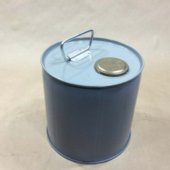 Green (Olive Drab) Phenolic Lined Steel Pails (Drums)