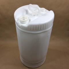 15 Gallon Plastic UN Tight Head Drums in White or Natural