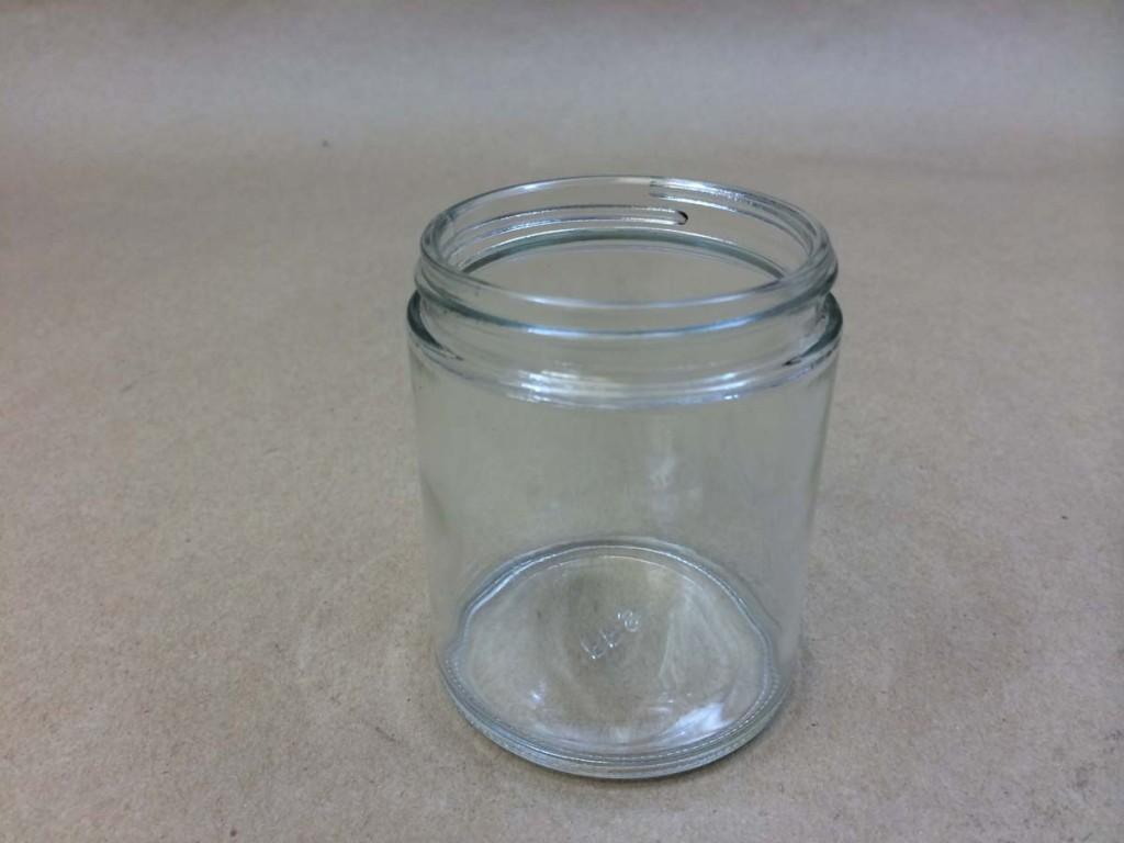 6 Oz Straight Sided Glass Jar
