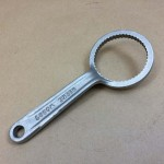 drum wrench, bung wrench for screw cap style closures.