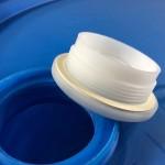 30 gallon plastic drum, tight head drum, nps plug, drum bung