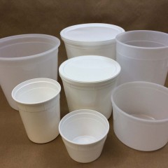 Plastic Containers for Pastries and Cookies