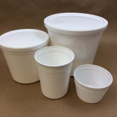 Deli Tubs Manufactured by Plastic Packaging (Placon)